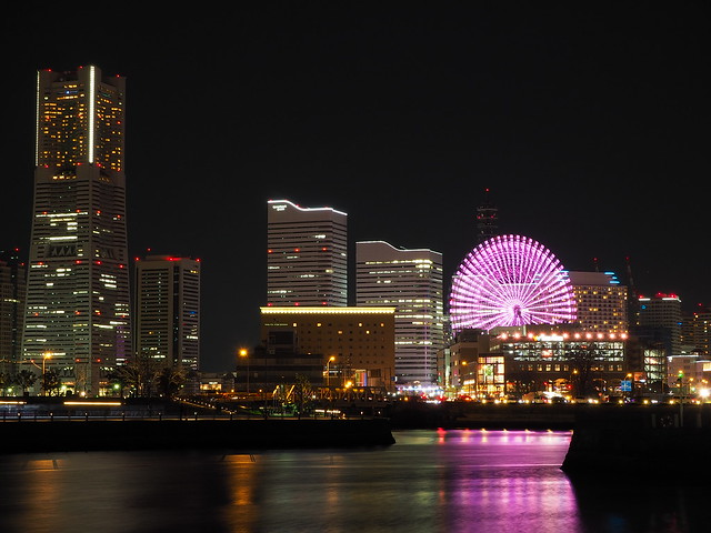 Yokohama City Night at Christmas Eve 2016 (32)