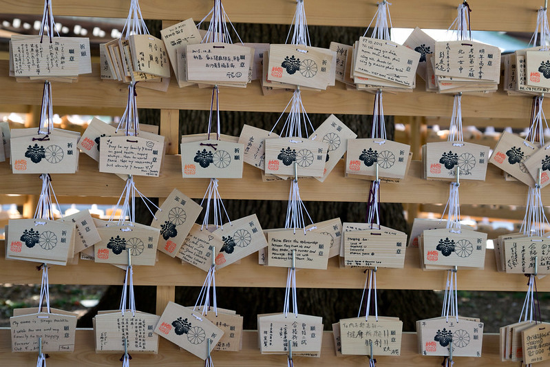 Wish boards, Meiji Shrine, Tokyo, Japan | packmeto.com