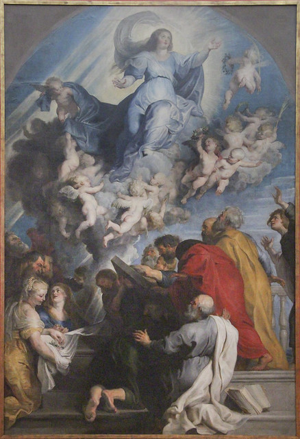 The Assumption of Maria, Peter Paul Rubens atelier