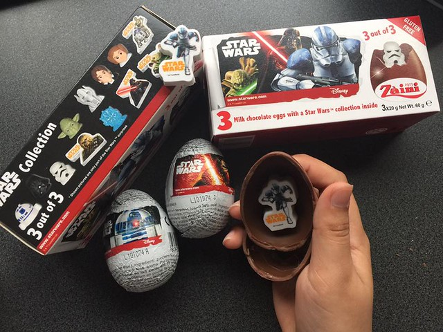 Star Wars Kinder Eggs