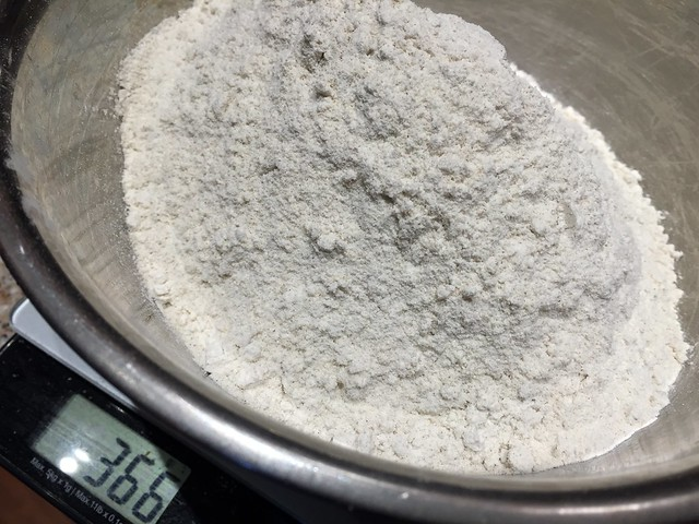 High-extraction buckwheat flour (81%)