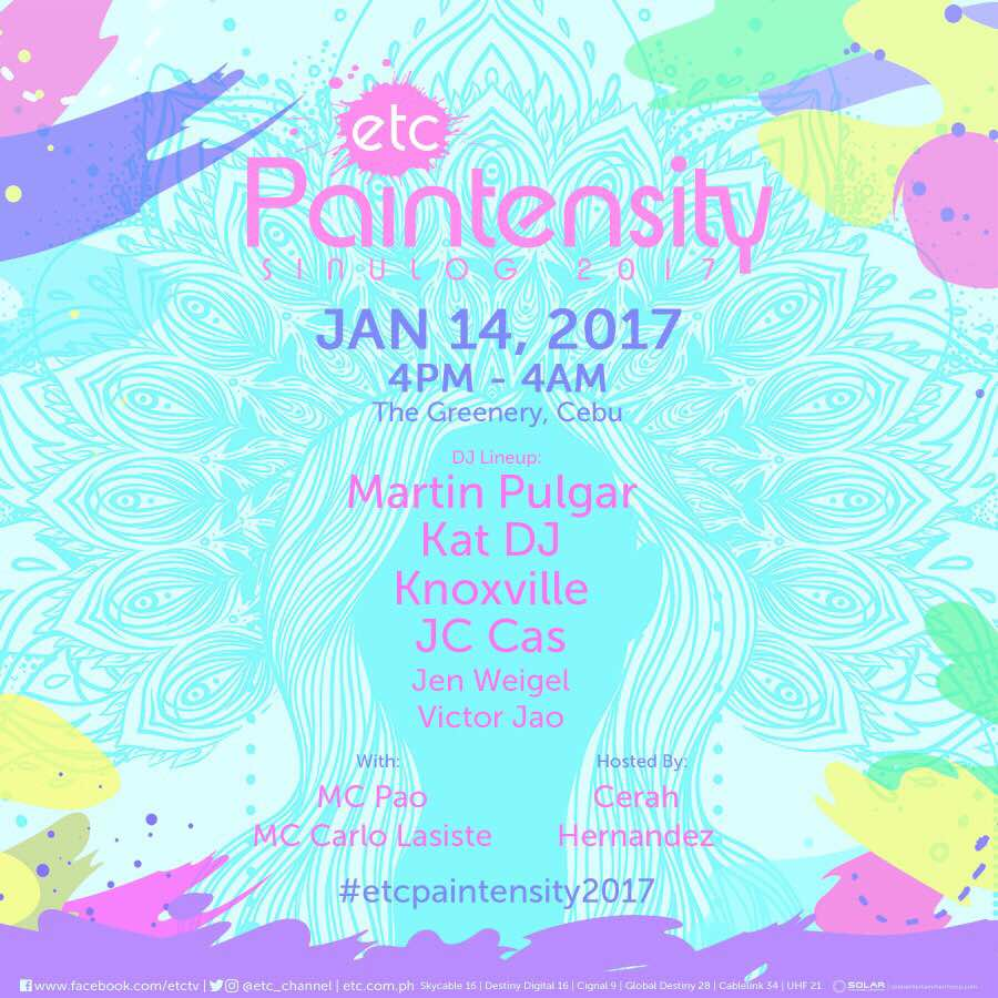 ETC Paintensity Sinulog 2017