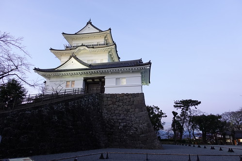 Odawara sky with Odawara castle tower