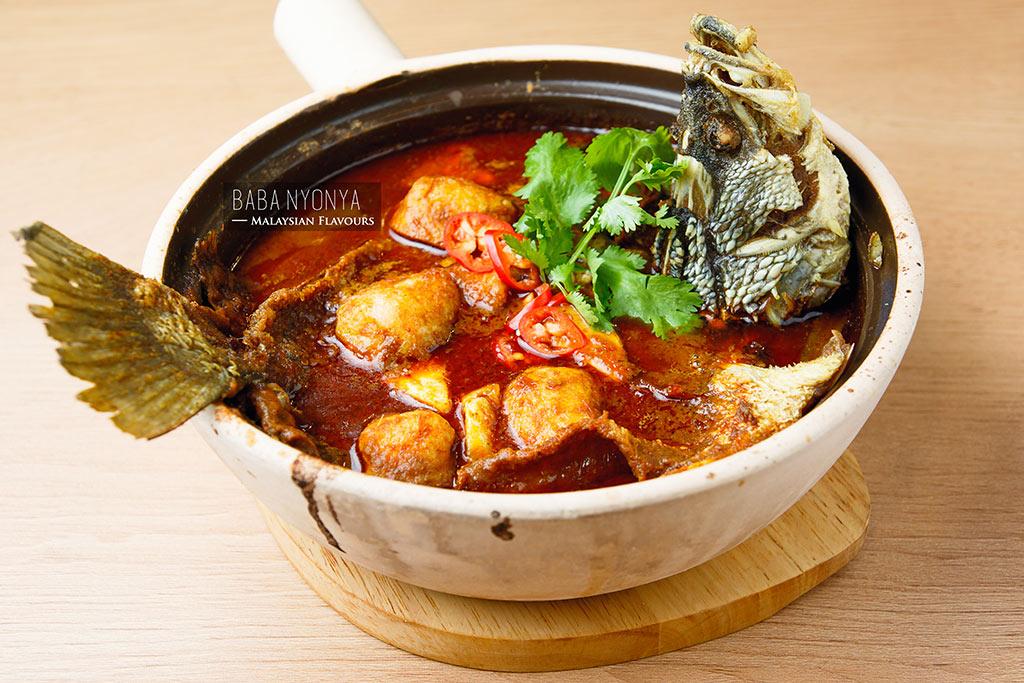 assam pedas fish claypot