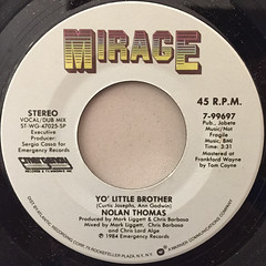 NOLAN THOMAS:YO' LITTLE BROTHER(LABEL SIDE-B)