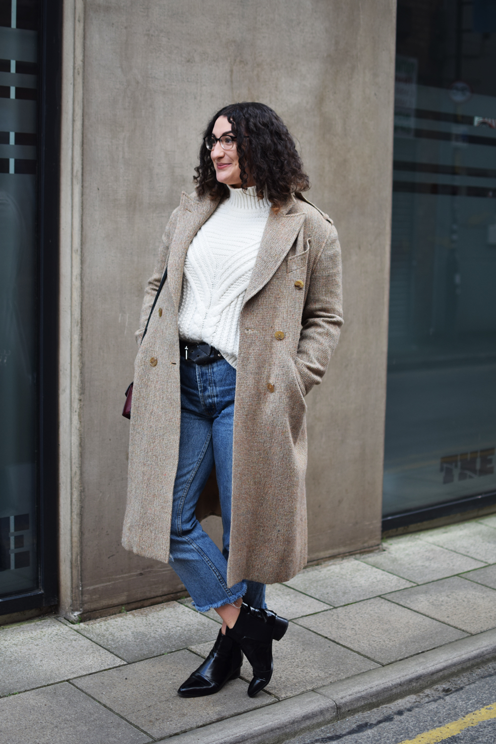 cosy winter knits and denim
