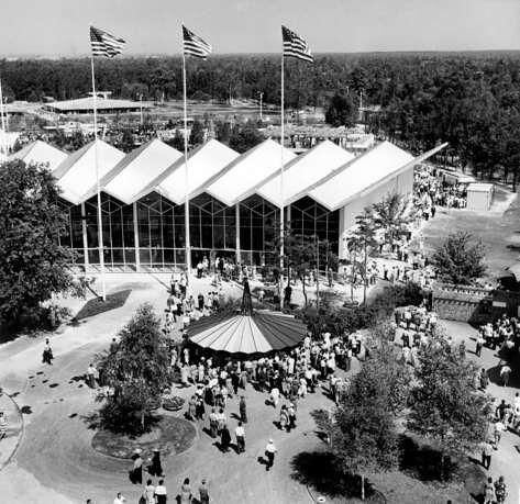 welton becket american national exhibit