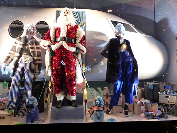 l'avion du Père Noël