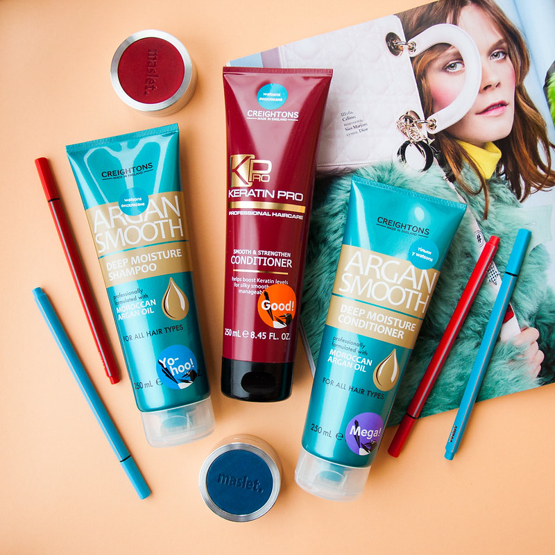 Watsons beauty box - CREIGHTONS Argan Smooth Deep Moisture Shampoo & Conditioner