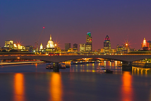 Waterloo Bridge at Twilight | by kayodeok