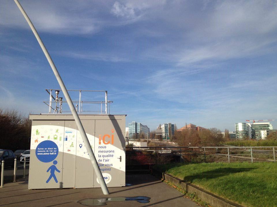 Reportage qualité de l'air à Lille