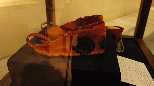 The amazing ancient Egyptian red shoes