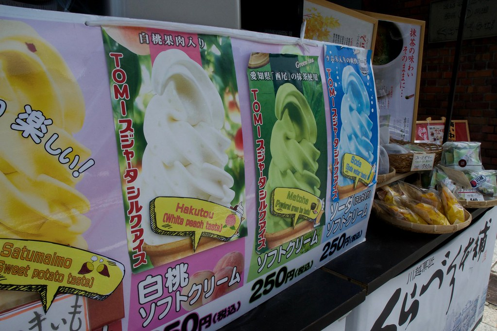Kawagoe's Candy Alley
