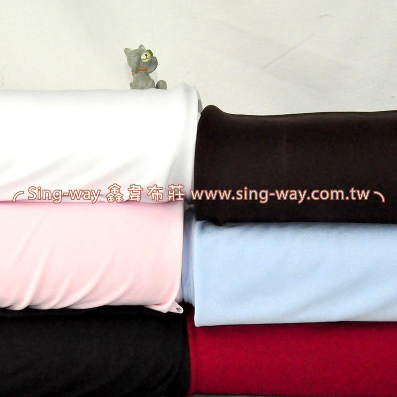 絲襪布 (彈性內裡) 素面針織 服裝布料裡布 1L370002
