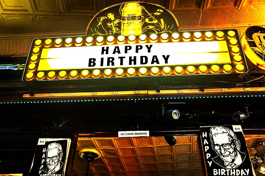 Happy Birthday Bar--Passyunk Square
