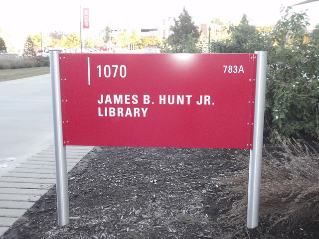Nth Carolina State Hunt Library