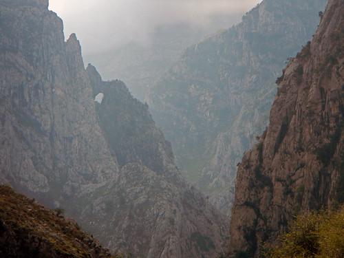 Poncebos in the Picos de Europa in Spain