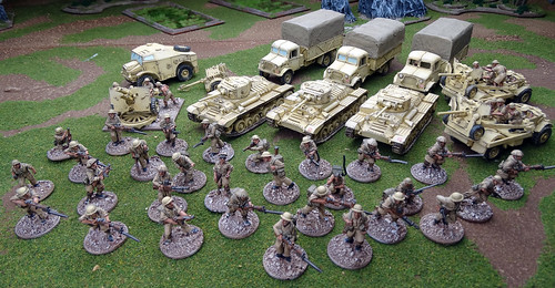 Bolt Action - British 8th Army