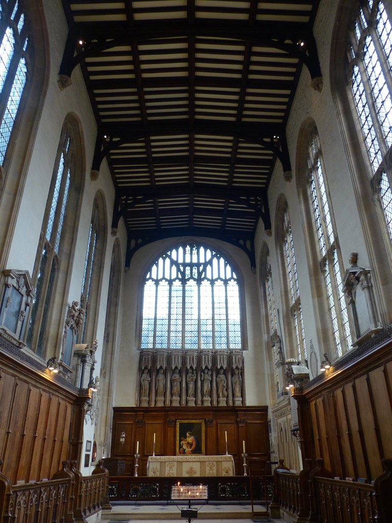 this is a picture of the interior of the University Church of St Mary the Virgin