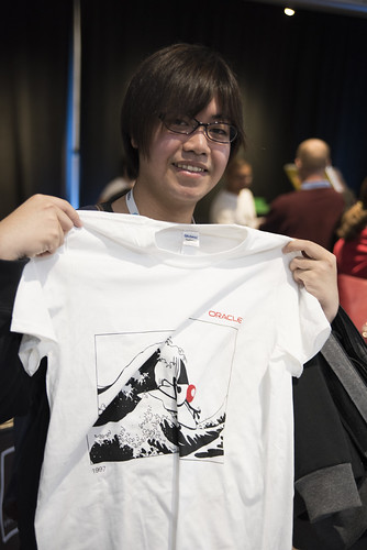 Cross Your Tees, JavaOne 2015 San Francisco