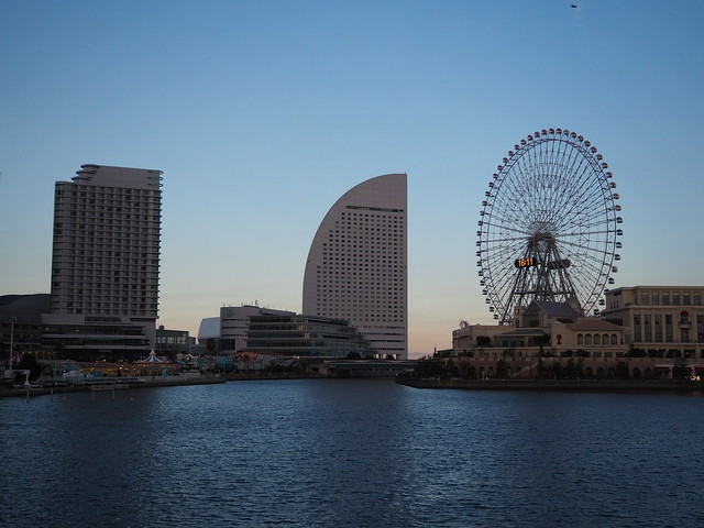 Yokohama City Night at Christmas Eve 2016 (1)