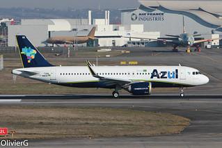 A320-251N Azul MSN7386 F-WWDR (PR-YRE) - TLS