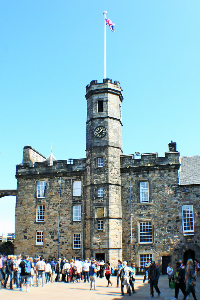 Crown Square, Edinburgh Castle, Scotland