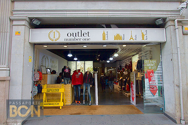 outlet number 1 outlets barcelona
