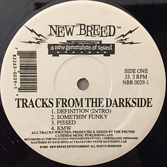 THE PRUNES:TRACKS FROM THE DARKSIDE(LABEL SIDE-A)