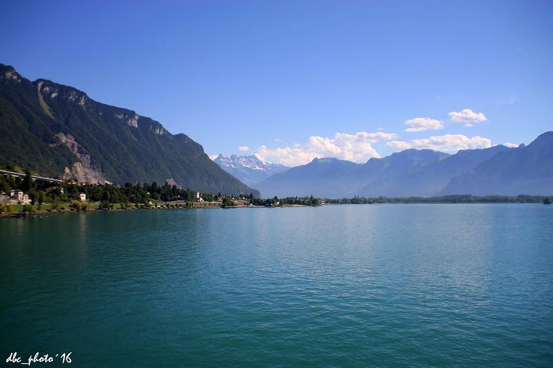 Visita al lago Leman en Suiza