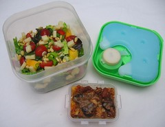 Fit & Fresh salad container lunch (exploded) | by Biggie*