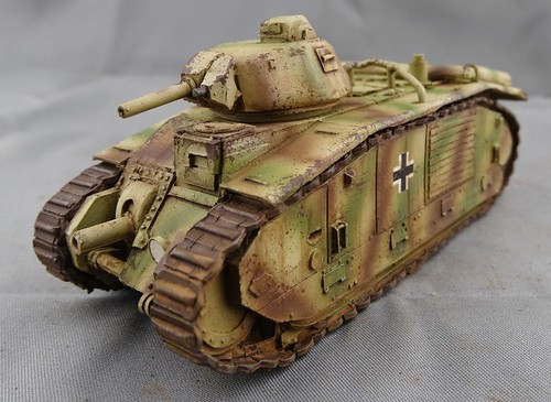 Bolt Action - German Char B1