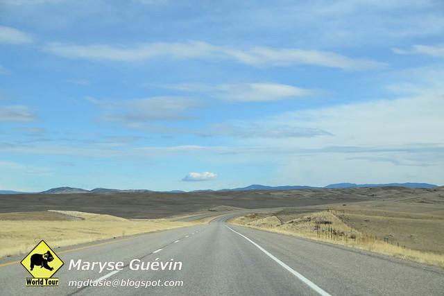 Route pour Yellowston