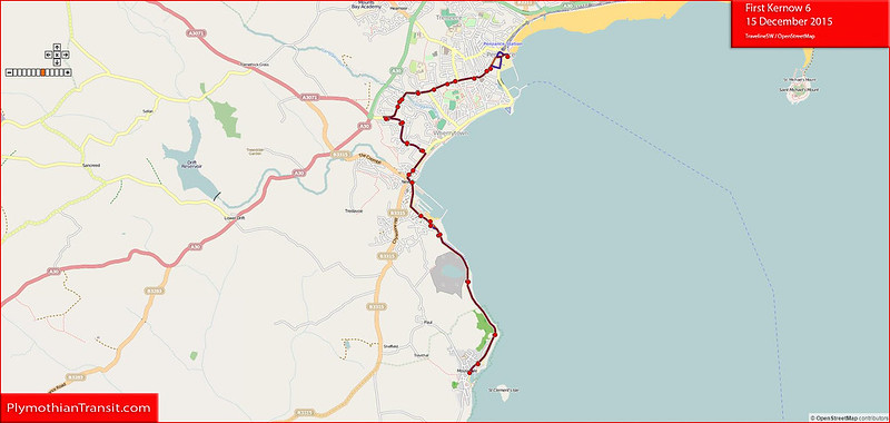 2015 12 12 First South West 6  Traveline Map.jpg