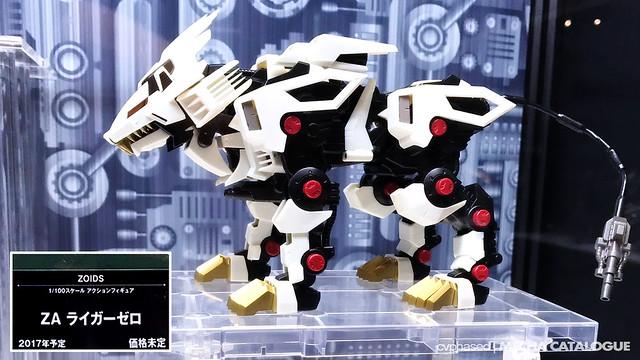 Zoids Aggressive Liger Zero - Announced!