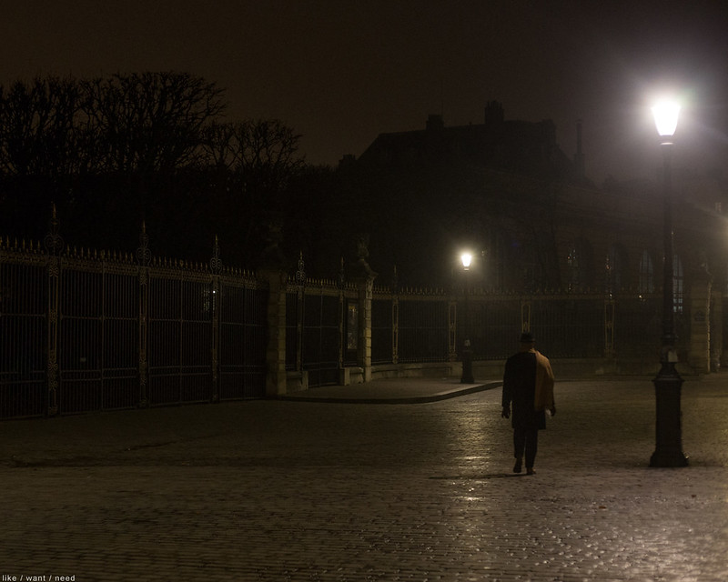 Out of the fog, Jardin du Luxembourg