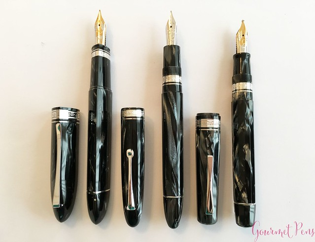 Review 90th Anniversary Omas Icons Celluloid Collection Set @PapierundStift 45
