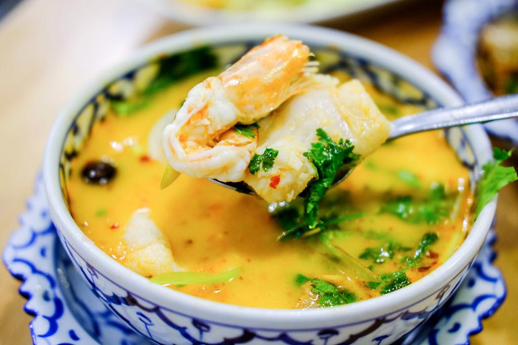 泰国南咖海鲜汤
