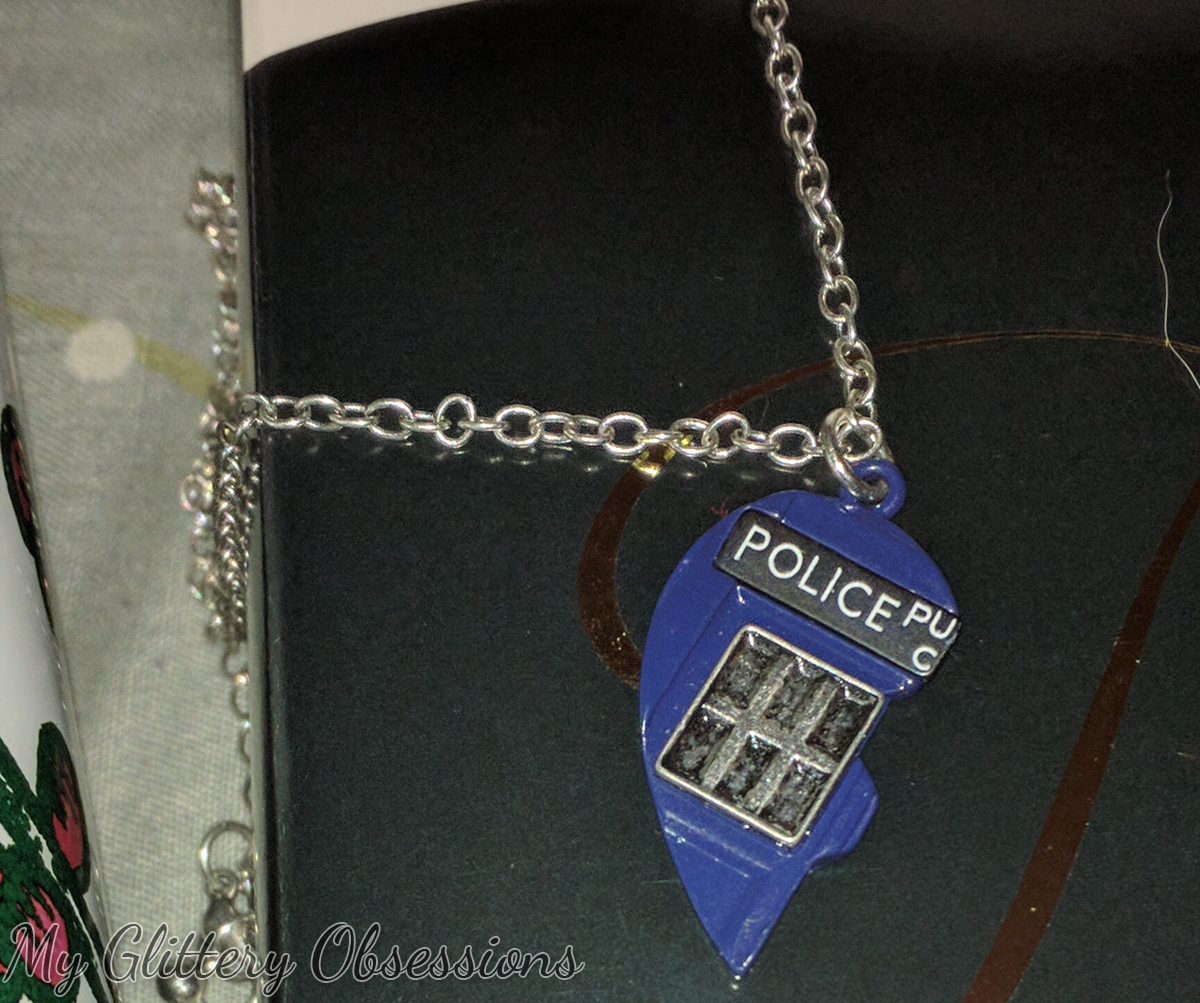 Tardis Friends Necklace from Hot Topic
