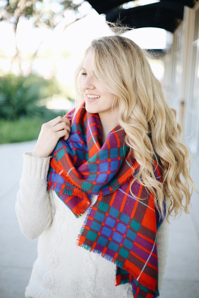 yall this plaid scarf is fabulous for the holiday season im so in love with it its thick and cozy perfect for cold weather haha - Christmas Plaid Scarf