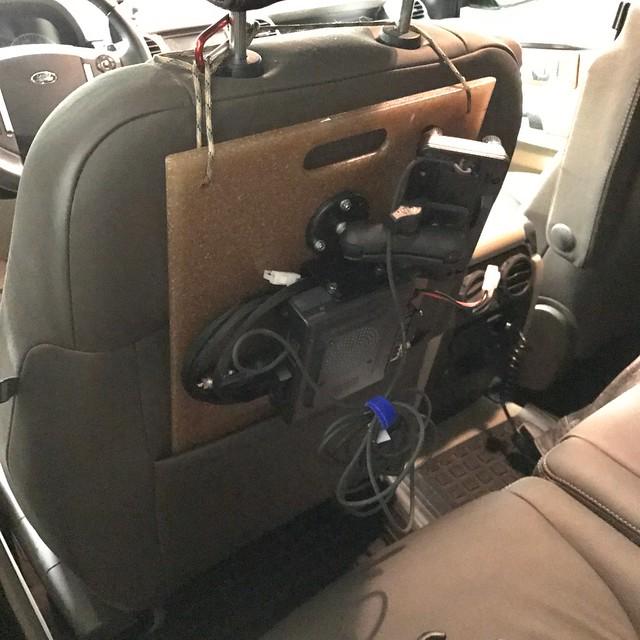 Yaesu 400DR Portable Mobile Setup