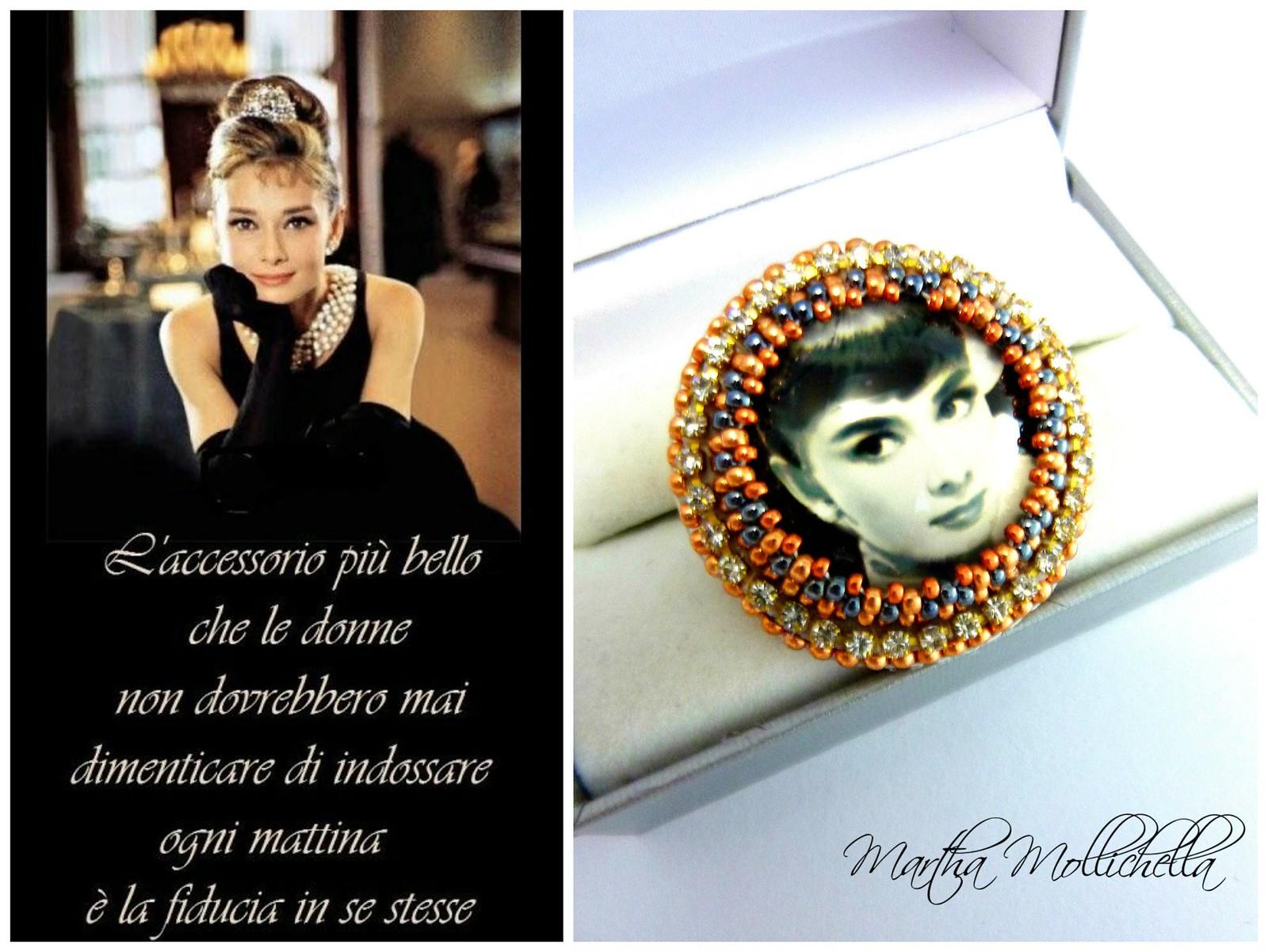 Marilyn Monroe Audrey Hepburn jewellery