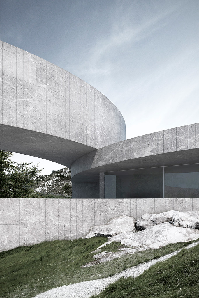 Spain architecture. House of the seven gardens 004