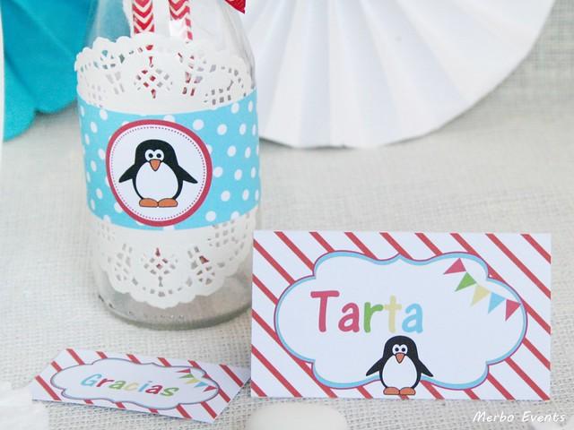 Cumpleaños pinguinos Merbo Events