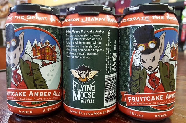 Flying Mouse Brewery - Fruitcake Amber Ale
