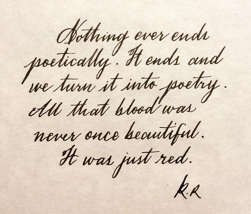 Calligraphy Poems | Examples of Calligraphy Poetry