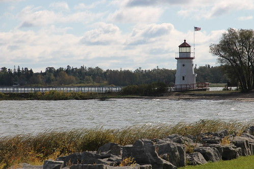 Cheboygan Crib Light - October 9, 2015 (Cheboygan, Michigan)