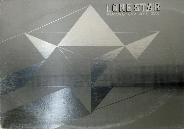 "Lone Star Firing on all Six 12"" Vinyl LP  Gramophone Record"