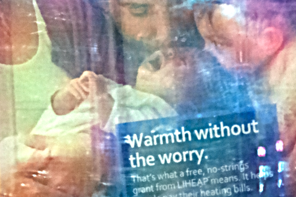 Warmth without the worry--Center City (detail)