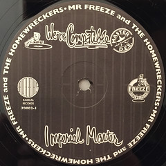 MR. FREEZE AND THE HOMEWRECKERS:WE'RE COMPATIBLE(LABEL SIDE-B)
